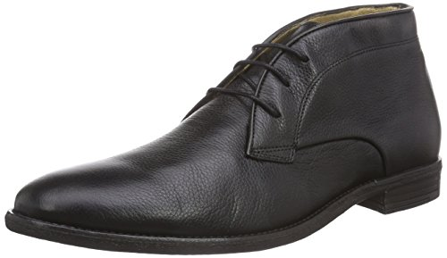 H.D. Hudson Mfg Co. Lockner, Bottines Chukka à tige courte homme Noir - Noir