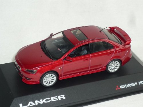 Vitesse Mitsubishi Lancer Limousine Rot Mit Spoiler Und Frontlippe Ab 2007 8. Generation Cyo 1/43 Modell Auto Modellauto - Mitsubishi Lancer 2007
