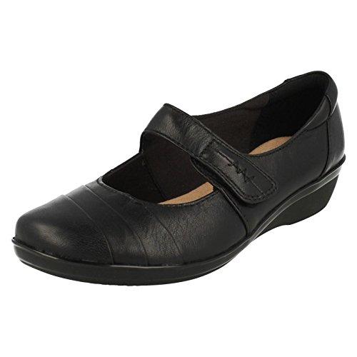 Clarks Everylay Kennon Womens Casual Scarpe Black