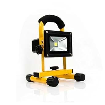 10W vert et blanc froid led rechargeable Projecteur Portable Camping Truck lampe de voiture