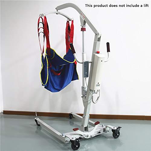 41sgDhEH9pL - D&F Arnés De Elevación De Paciente De Cuerpo Completo,Eslinga De Elevación con Accesorios De Bucle,para Posicionamiento Y Elevación De La Cama,Enfermería, Cuidador 507 Libras