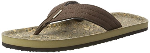 ONeill Fm Chad Structure, Tongs homme Braun (Brown Allover Print)