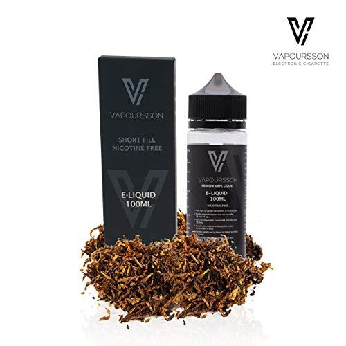 Vapoursson 100ml Classic Tabaco 0mg E-Liquido | Shortfill