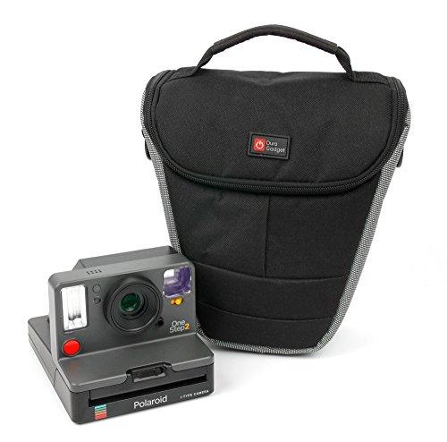 Duragadget borsa protettiva per fotocamera polaroid onestep 2 - con tracolla regolabile + maniglia