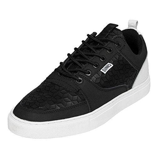 Djinns Homme Chaussures / Baskets Forlow Rubber Croc Noir