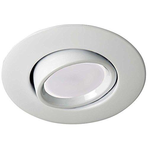 Wonderlamp Aro Einbauleuchte LED 4000K GU10, 8W, Weiß, - De Buey Ojos