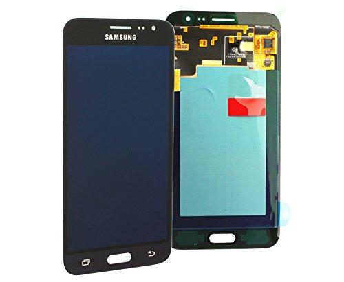 galaxy j3 display Display Full LCD Komplettset Touchscreen Glas Scheibe Ersatzteil Zubehör Reparatur Schwarz für Samsung Galaxy J3 J320F 2016 + Werkzeug Opening Tool Modellnummer: GH97-18414C