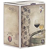 Vino Rosso sfuso Moro di Lucania 2017 - 14% VOL. Bag in Box da 5 LITRI
