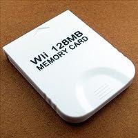 128 MB Scheda di memoria per Wii Gamecube GC gioco giochi  Nuovo Compatibile per Nintendo Wii Gamecube GC Prodotto di alta velocità ed efficienza Facile da usare e di qualità assicurata 2043 blocchi non compressi