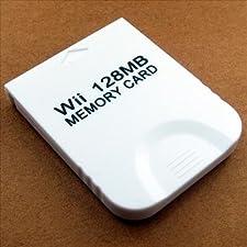 QUMOX 128 MB di scheda di memoria per Wii Gamecube GC gioco giochi 128M