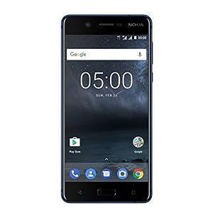 Nokia 5 Dual SIM Smartphone (13,2 cm (5,2 Zoll), 16GB, 13 Megapixel Kamera, Android 7.0) satin-temperiertes-blau