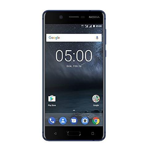 Nokia 5 Dual SIM Smartphone (13,2 cm (5,2 Zoll), 16GB, 13 Megapixel Kamera, Android 7.0) (Handy Akkulaufzeit)