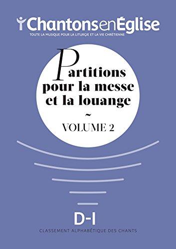 Partitions pour la Messe et la Louange Vol 2