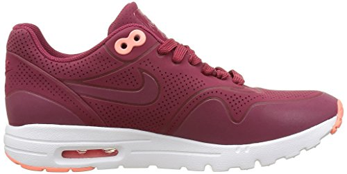 Nike Air Max 1 Ultra Moire, Baskets Basses Femme Rouge (Noble Red/Noble Red)