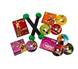 Zumba Fitness 7 DVD Exercise Kit Includes Toning Sticks Exhilarate