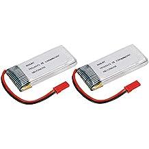 2pcs GoolRC 3.7V 1200mAh 25C JST Plug LiPo batería para Walkera WKLIPO-5 # 10 5G4Q3 SYMA S006