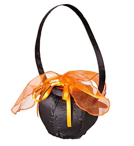 WIDMANN–Handtasche Hexenkessel Hexe Womens, schwarz, One Size, ()
