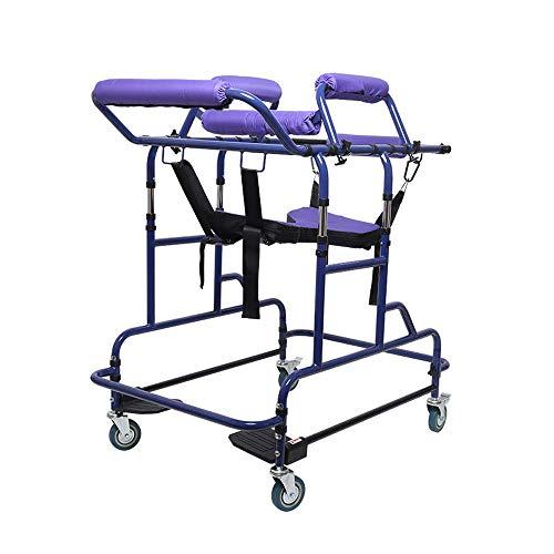 Huikafir Alpenstock Gehbehinderte ältere Menschen mit Gehbehinderung, kohlenstoffhaltige stehende Rehabilitationsgeräte für Wanderer Trekkingstange