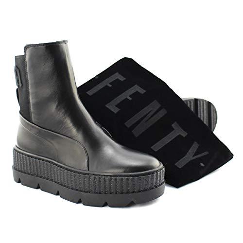 6d77e6abe Puma X Fenty Chelsea Sneaker Boot WN's 366266 03 Leder Stiefel by Rihanna 40