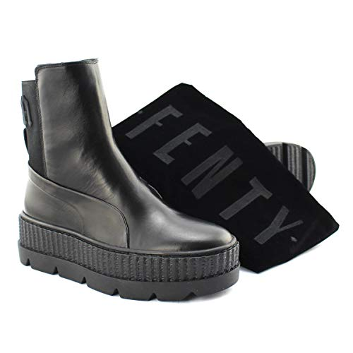 fenty puma schuhe Puma X Fenty Chelsea Sneaker Boot WN's 366266 03 Leder Stiefel by Rihanna 39