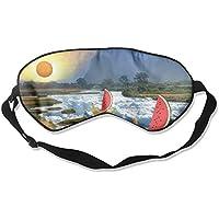 Sleep Eye Mask Bananas Boats Lightweight Soft Blindfold Adjustable Head Strap Eyeshade Travel Eyepatch preisvergleich bei billige-tabletten.eu