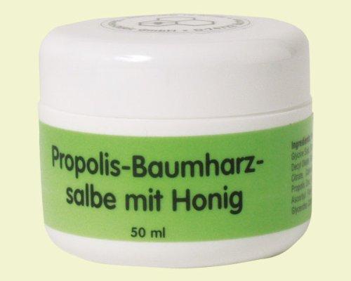 Propolis Bienen Baumharz Salbe mit Honig 50 ml