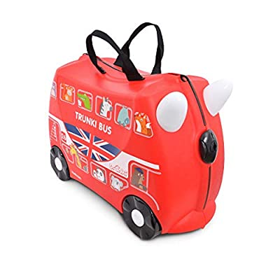Trunki Children's Ride-On Suitcase: Boris the Bus (Red)