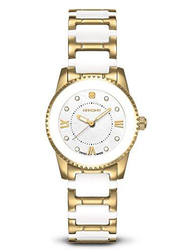 Swiss Military Hanowa Mujer Reloj cerámica brillantes 16–8005.02.001