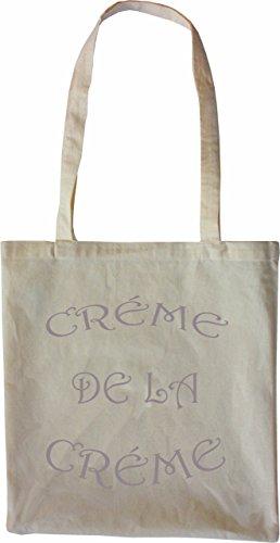 Mister Merchandise Tasche Creme de la Creme Stofftasche , Farbe: Schwarz Natur