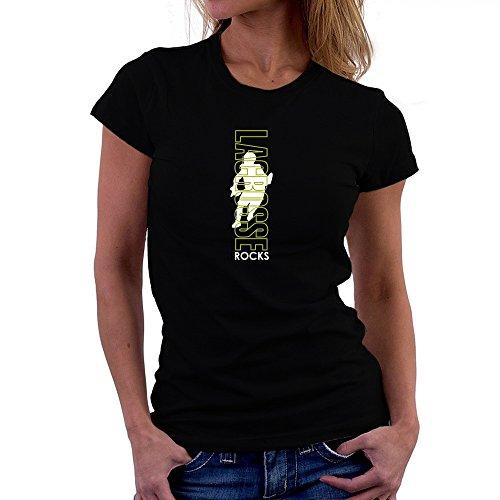 Teeburon Lacrosse ROCKS Damen T-Shirt