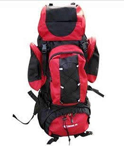 Rucksack Rucksack Wandern Outdoor Bergsteigen Reisen Casual Daypack Hochleistungs-Taschen,Orange Red