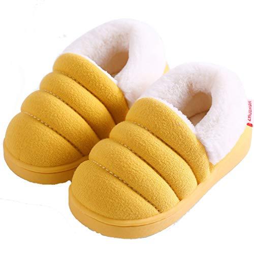Zapatillas de Estar por Casa para Niñas Niños Otoño Invierno Zapatillas Interior Suave Casa Caliente...