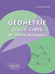 Géométrie pour le CAPES de Mathématiques