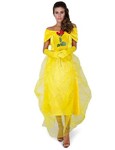 Costume la bella principessa per donna M