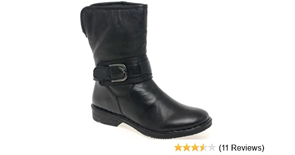 f83b7971450e Lotus Matterhorn Wide Fit Leather Ankle Boots Black Leather 5.0   Amazon.co.uk  Shoes   Bags