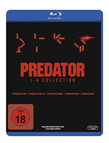 Predator 1-4 - Box [Blu-ray]