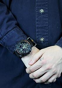 Casio GA-100MC-1A4ER Reloj de Hombres de Casio