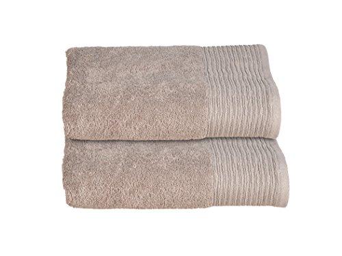 Allure Bath Fashions Shimmer Bathmat and Pedestal Mat - Bronze