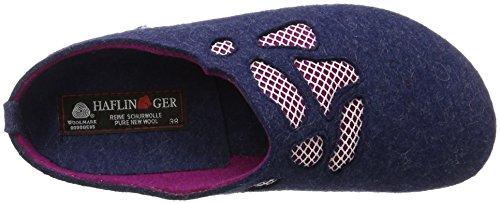 Haflinger Grizzly Michelle, Scarpe da Ginnastica Donna Denim (Jeans)