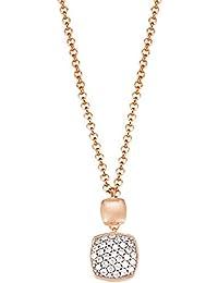 Esprit Damen Halskette 925 Sterling Silber Zirkonia ANTIGONE ELNL92828B420