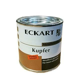 eckart m tal effet peinture aux intemp ries int rieur ext rieur cuivre 375 ml. Black Bedroom Furniture Sets. Home Design Ideas