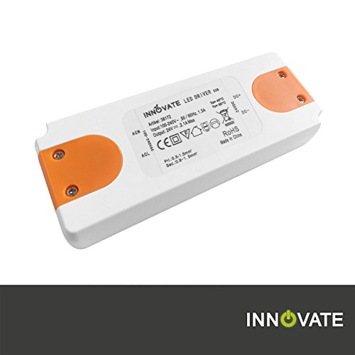 Innovate LED Trafo ECO 24 Volt / DC, 0-50W - LED Treiber - Transformator - Netzteil - Driver (24 Volt - 50 Watt)