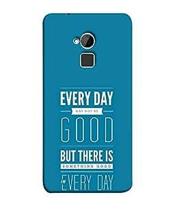 FUSON Designer Back Case Cover for HTC One Max :: HTC One Max Dual SIM (Good Idea Great quote Success Quote)