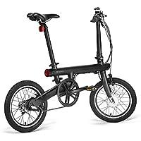 Dailyinshop Xiaomi Mi Plegable eléctrica Inteligente Bicicleta Plegable Bicicleta E-Bike luz de la Bicicleta