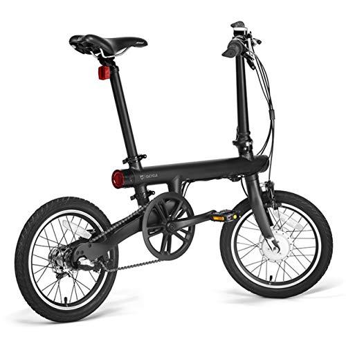 """Dailyinshop Xiaomi Mi Plegable eléctrica Inteligente Bicicleta Plegable Bicicleta E-Bike luz de la Bicicleta 18"""" TFT Monitor de Pantalla vehículo en Lugar de Caminar (Color: Negro)"""