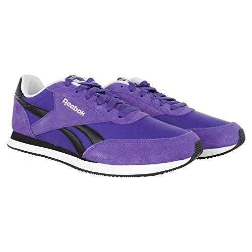 f083fc5ced4ff Reebok - Royal CL Jog Team - V70713 - Couleur  Noir-Violet - Pointure