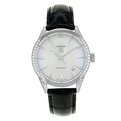 TAG Heuer - Reloj de pulsera mujer, piel, color negro