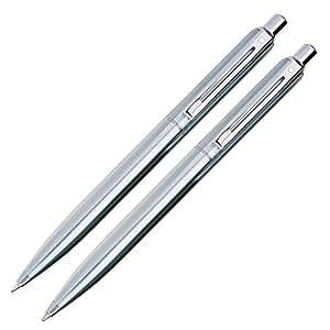 Sheaffer Sentinel Parure stylo bille et porte-mine Chrome Accents chromés