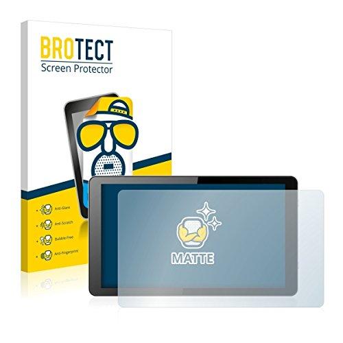 2X BROTECT Matt Bildschirmschutz Schutzfolie für i.onik Global Tab L1001 (matt - entspiegelt, Kratzfest, schmutzabweisend)