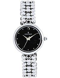 Escort Analog Black Dial Women's Watch- 4203 SM